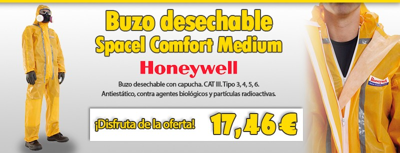 Buzo desechable Spacel Comfort Medium