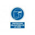 PROTECCION DE LA CARA CON ROTULO