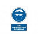 USO DE GAFAS CON ROTULO