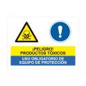 productos toxicos uso obligatorio de equipo de proteccion