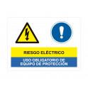 riesgo electrico uso obligatorio de equipo de proteccion
