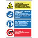 Cartel de Normas de Seguridad C-010