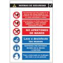 Cartel de Normas de Seguridad C-013