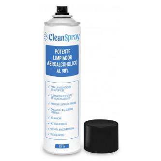 limpiador aeroalcohólico para superficies CleanGel