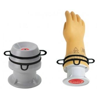 Comprobador neumático para guantes aislantes