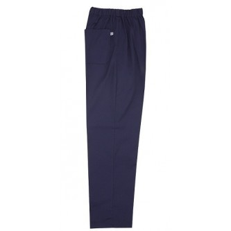 pantalón pijama azul marino sin cremallera velilla