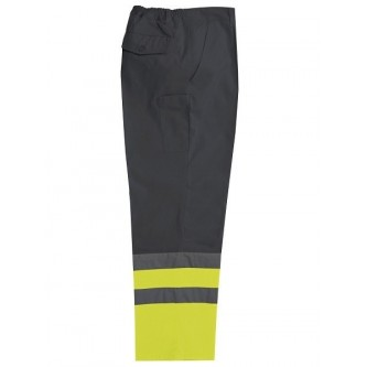 pantalón alta visibilidad bicolor velilla