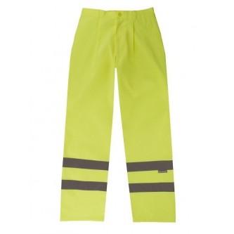 pantalón alta visibilidad amarillo velilla