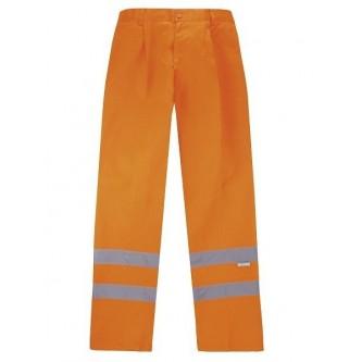 pantalón alta visibilidad naranja velilla