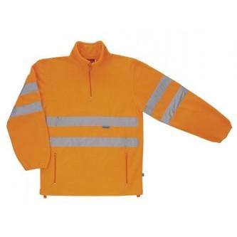 forro polar naranja alta visibilidad velilla