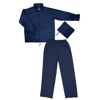 traje ingeniero de lluvia azul marino velilla