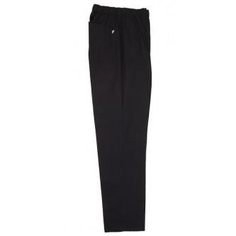 pantalón pijama negro sin cremallera velilla