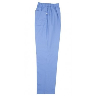 pantalón pijama celeste sin cremallera velilla