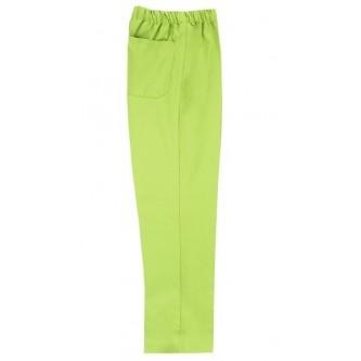 pantalón pijama verde lima sin cremallera velilla
