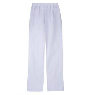 pantalón pijama blanco sin cremallera velilla