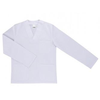 camisola pijama blanco cuello pico manga larga velilla