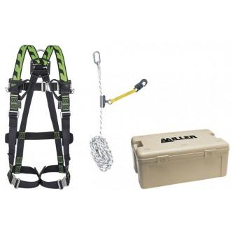 kit para tejados miller h desing y amarre de cuerda