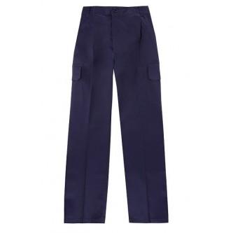 pantalón multibolsillo azul marino velilla