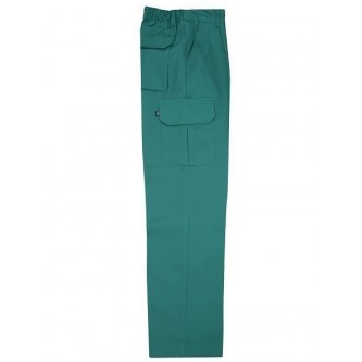 pantalón multibolsillo verde velilla
