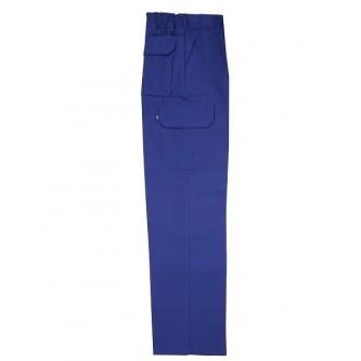 pantalón multibolsillo azulina velilla
