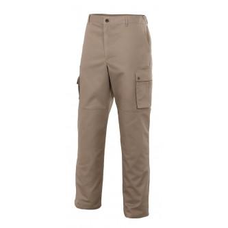 pantalón multibosillos reforzado niquel velilla