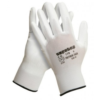 guantes feather task