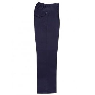 pantalon con elastico azul marino velilla