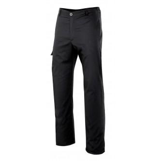 pantalón con gomas modelo orégano negro velilla