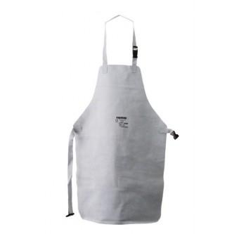 delantal de cuero gris 90x60 para soldar safetop