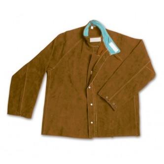 chaqueta de cuero best para soldar safetop