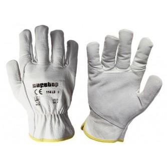 guantes tipo conductor reforzada