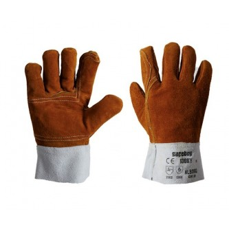 guantes serraje soldadura tipo b alborg safetop