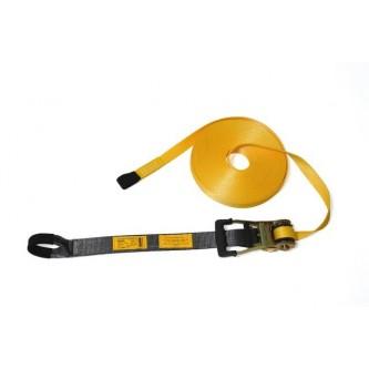 linea de vida horizontal de cinta para 3 operarios safetop