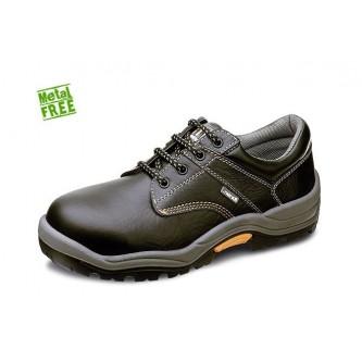 zapato de seguridad piel flor no metálico s3 c1 h1 src mendi