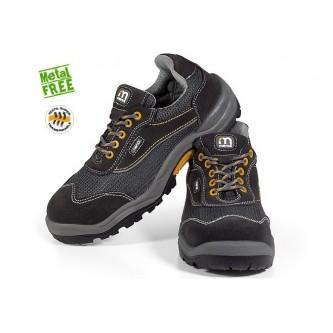 zapato de seguridad rejilla no metálico s1p c1 h1 src mendi