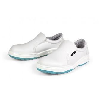 zapato blanco microfibra hidrofugada s2 c1 src mendi