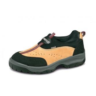 zapato de seguridad nobuck elástico s1p c1 src mendi