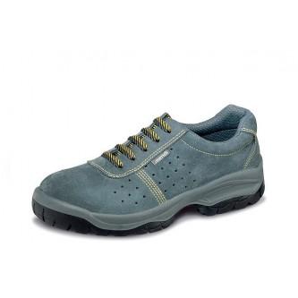 zapato de seguridad piel perforada s1p c1 src mendi