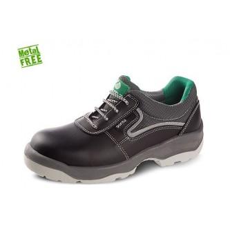 zapato de seguridad piel no metálico cordura s3 c1 src mendi