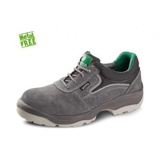 zapato de seguridad piel perforada no metálico cordura s1p c1 src mendi