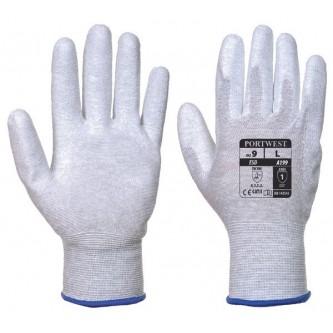 guantes antiestáticos esd portwest palma cubierta pu