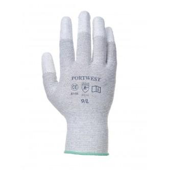 guantes antiestáticos esd con puntas pu portwest