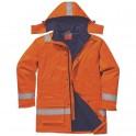 chaqueta industria gas y petróleo antiestático fr59 portwest