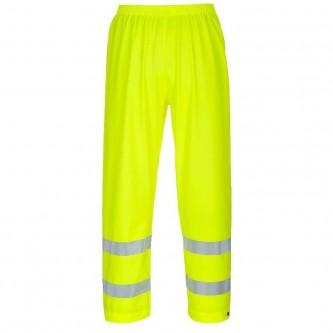 pantalón alta visibilidad para agua e ignífugo fr43 portwest