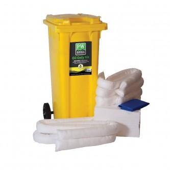 kit contra derrames sólo aceites pw spill sm63 portwest