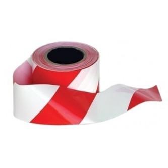 cinta de barrera rojo y blanco pack 18 unidades portwest
