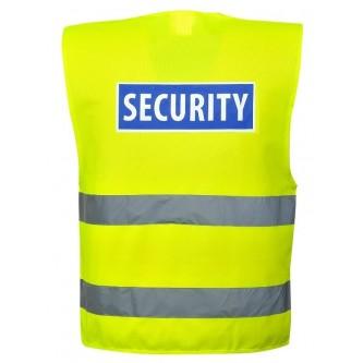chaleco alta visibilidad impreso security c404 portwest
