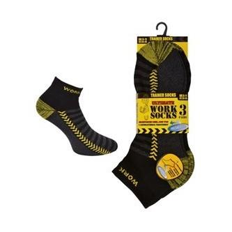 calcetines cortos pack 3 pares trainer safetop