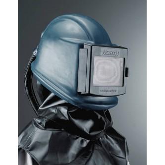 casco para granallado con suministro de aire commander cuero