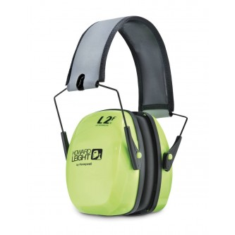 orejera antirruido alta visibilidad plegable leightning l2fhv snr 32